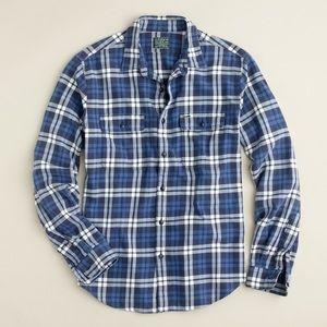 J.Crew Vintage Style Flannel Shirt